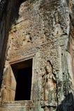 Cambodia - Bayon temple. Angkor Wat, Siem Reap area (Cambodia) - Bayon temple, well-known and richly decorated temple Stock Photos
