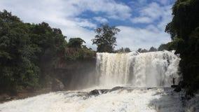 cambodia Boo Sra Waterfall Província de Mondulkiri fotos de stock royalty free