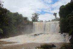 cambodia Boo Sra Waterfall Provincia di Mondulkiri Fotografia Stock Libera da Diritti