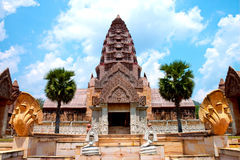 Cambodia castle Stock Images
