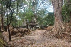 cambodia Città di Koh Ker Prasat Kra Chab Provincia di Preahvihear Città di Siem Reap Fotografie Stock Libere da Diritti