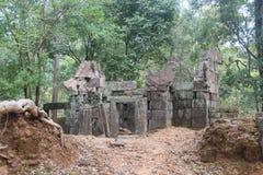 cambodia Città di Koh Ker Prasat Kra Chab Provincia di Preahvihear Città di Siem Reap Fotografia Stock Libera da Diritti