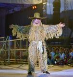 Cambodia dance show Mask international Festival Royalty Free Stock Photos