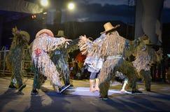 Cambodia dance show Mask international Festival Stock Photography
