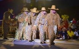Cambodia dance show Mask international Festival Royalty Free Stock Photo