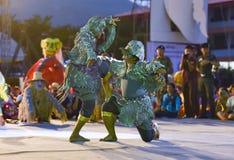 Cambodia dance show Mask international Festival Stock Images