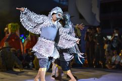 Cambodia dance show Mask international Festival Royalty Free Stock Photography