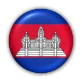 cambodia flagę royalty ilustracja