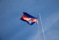 Cambodia Flag Stock Photo