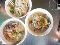 Cambodia food noodles with rice Royalty Free Stock Images