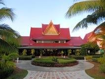 cambodia hotell Arkivfoto