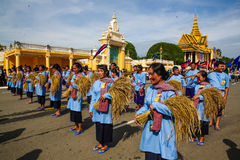 Cambodia Independence Day Royal Palace Silver Pagoda Royalty Free Stock Photography