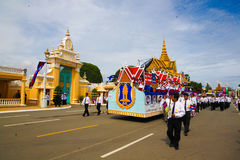 Cambodia Independence Day Royal Palace Silver Pagoda Royalty Free Stock Photo