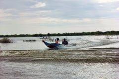 cambodia jeziorny aproszy tonle Obraz Stock