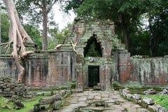 cambodia khan preah Royaltyfria Bilder