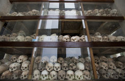 Cambodia -  Khmer Rouge regime Royalty Free Stock Photos