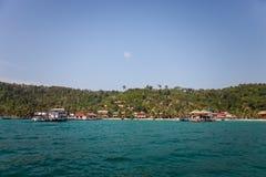 Cambodia, Koh Rong island stock photo