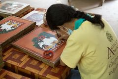 Cambodia Royalty Free Stock Photography