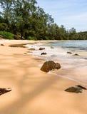 cambodia lagoa, praia, areia, água do mar e selva foto de stock royalty free