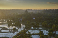 Cambodia landscape Royalty Free Stock Photo