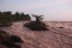 cambodia Le Mekong Province piquée de Treng Ville piquée de Treng Photo libre de droits