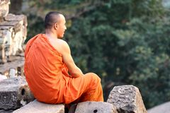 Cambodia monk Stock Photos