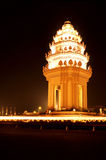 cambodia monument Royaltyfri Foto