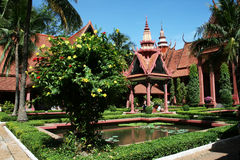 Cambodia museum Royalty Free Stock Photo