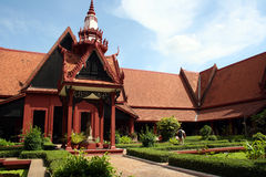 Cambodia Museum Royalty Free Stock Photo