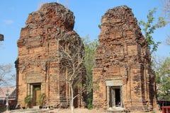 Cambodia. Neang Khmao temple. Ta Keo province. Phnom Penh Sity. Royalty Free Stock Photo
