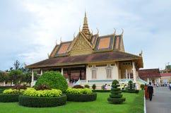 cambodia pałac penh phnom królewski grobowiec Fotografia Royalty Free