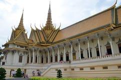 cambodia pałac penh phnom królewski grobowiec Obraz Stock