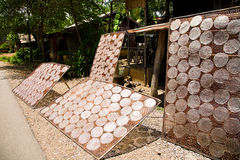 cambodia paper rice Fotografering för Bildbyråer