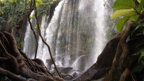 cambodia Phnom Kulen Cascade Ville de Siem Reap Province de Siem Reap Images libres de droits