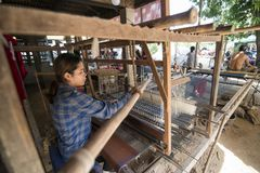 Free CAMBODIA PHNOM PENH SILK ISALND PRODUCTION Stock Image - 119843951