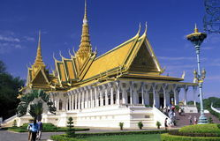 CAMBODIA PHNOM PENH Royalty Free Stock Photography