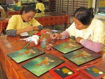 cambodia rękodzieło Zdjęcia Royalty Free