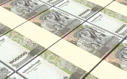 Cambodia riels bills stacks background. Stock Photography