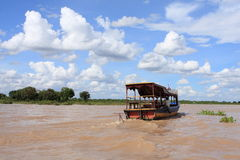 Cambodia River Stock Photo