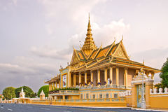 Cambodia Royal Palace. Eastphoto, tukuchina, Cambodia Royal Palace Royalty Free Stock Images