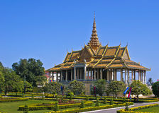 Cambodia Royal Palace Stock Image