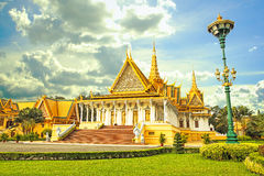 Cambodia Royal Palace khmer king place king norodom sihankmony silver pagoda Stock Photography