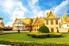 Cambodia Royal Palace khmer king place king norodom sihankmony silver pagoda Stock Images