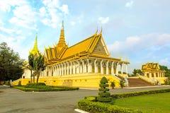Cambodia Royal Palace khmer king place king norodom sihankmony silver pagoda. Cambodia royal palace inside view.nking norodom sihankmony Stock Images