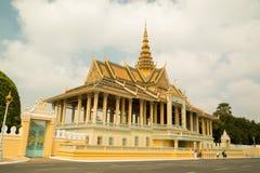 Cambodia Royal Palace, Moonlight Pavilion Royalty Free Stock Photo