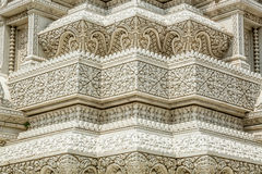 Cambodia Royal Palace, stupa. Carved details of stupa in royal palace of phnom penh Stock Photography