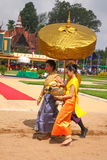 Cambodia The Royal Ploughing Ceremony siem reap angkor bayon presh vihear. The Royal Ploughing Ceremony is one of the mostnimportant annual royal traditional Stock Photos