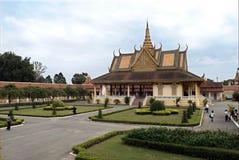 Cambodia's Royal Palace Royalty Free Stock Image