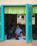 Cambodia school Stock Image