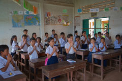 Cambodia school Stock Photos